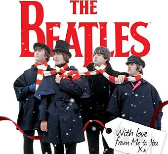 Beatles Holiday Poster