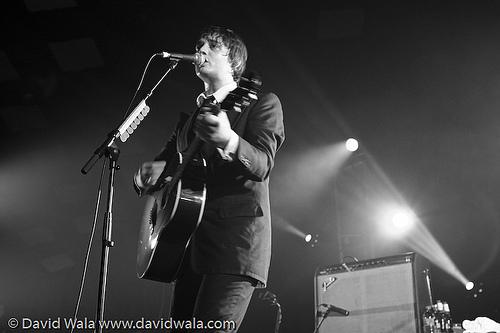 Peter Doherty in Glasgow, September 24, 2009