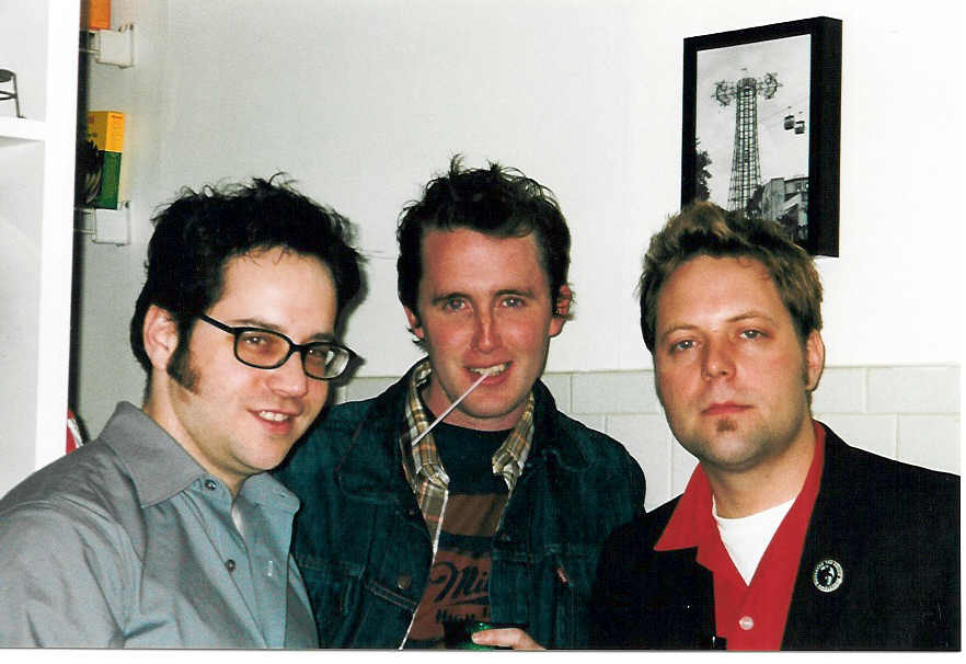 The The Chicago contingent of the Glorious Noise posse, January 2002.