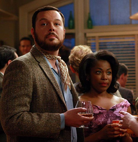 AMC's Mad Men - Paul Kinsey and friend