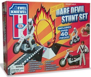 Evel Knievel broke every bone in his body...