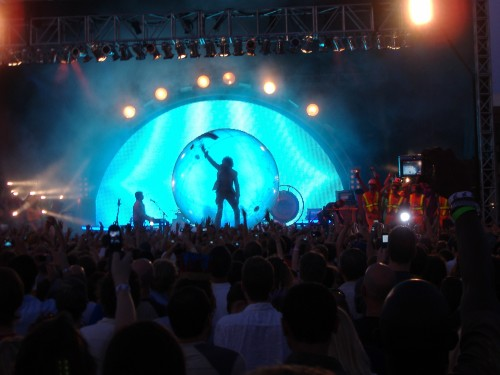 The Flaming Lips Live at the 80/35 Music Festival