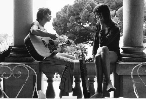 Dominique Tarle: Rolling Stones - Keith with Gram Parsons