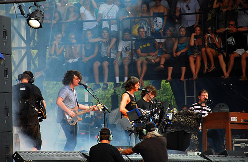 Lollapalooza 2009: Arctic Monkeys