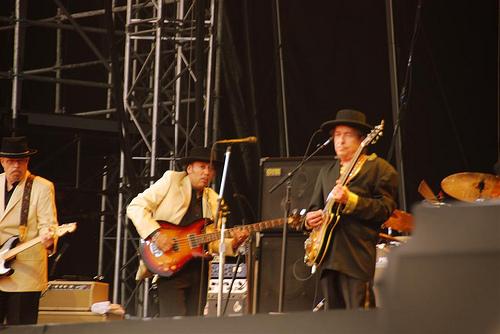 Bob Dylan at Rothbury