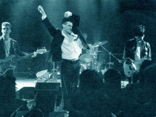 The Smiths, live in 1985