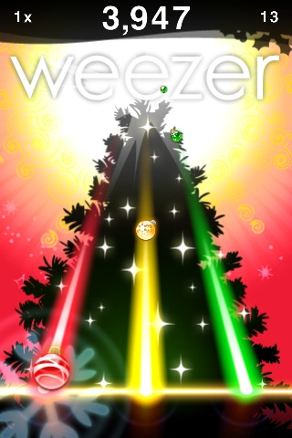 Play Christmas songs with Weezer on your iPhone | Glorious Noise
